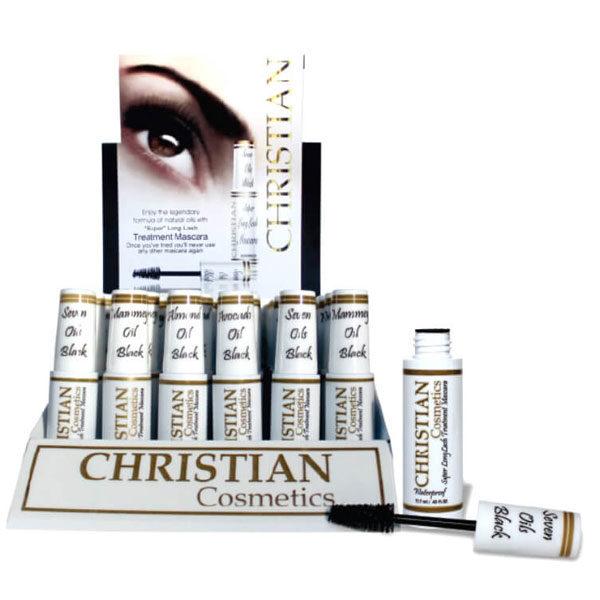 Super Long Lash Treatment Mascara Christian Cosmetics